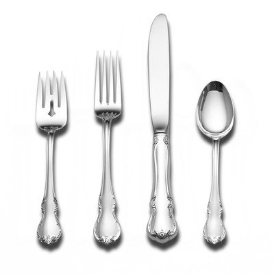 Towle Silversmiths French Provincial Sterling Silver 4-piece Place Setting (French Provincial Place Knife)