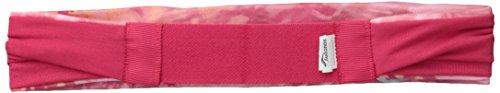 Saucony impreso pañuelo para la cabeza (Reversible) - SA90532, Raspberry Beret Raspberry Beret