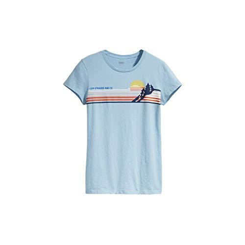 Camiseta Levis Feminino Sun Azul