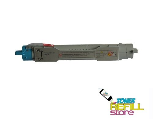 Toner Refill Store TM Cyan Remanufactured Toner Cartridge for the Konica Minolta QMS 3300 1710550-004