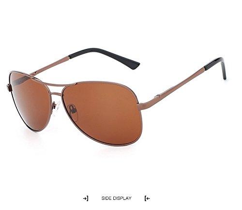 de Adultos Gafas Sol para Hombre UV400 de de Gafas para Moda Gran Vintage Sol Ruiyue Green Mujer de Gafas Sol Polaroid Gafas Gafas Unisex Sol Sol de de Sol aSqnP54I