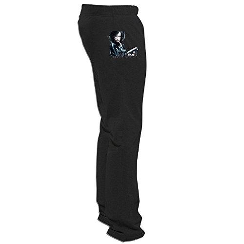 Megge Men's Underworld Blood Wars Comfortable Fleece Sweatpants Black XXL