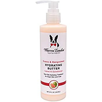 Warren London Hydrating Butter Leave-in Conditioner for Dogs Skin and Coat - Guava & Mango - 8oz
