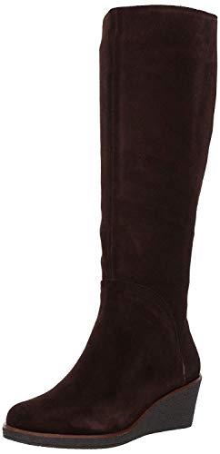 Aerosoles Women's Binocular Knee High Boot, Dark Brown Suede, 8 M US