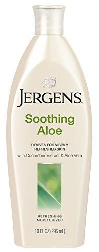 Jergens Soothing Aloe Refreshing Body Moisturizer, 10 Ounces