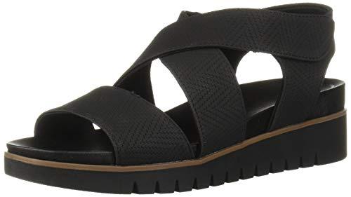 Dr. Scholl's Shoes Women's GET IT Sandal, Black Altitude Print, 10 M US