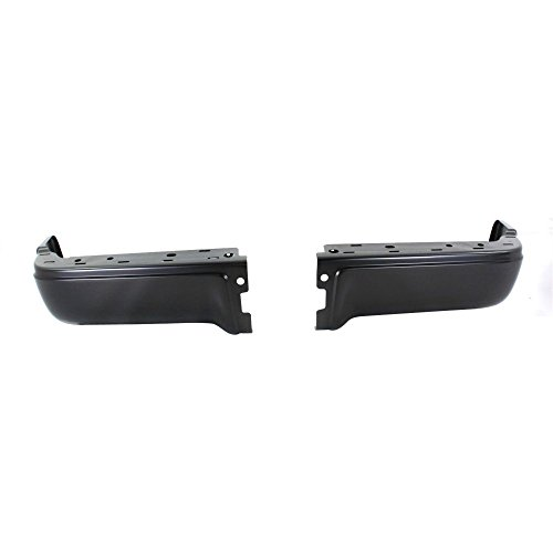 Rear Step Bumper for Ford F-150 2009-2014 Powdercoated Black Styleside