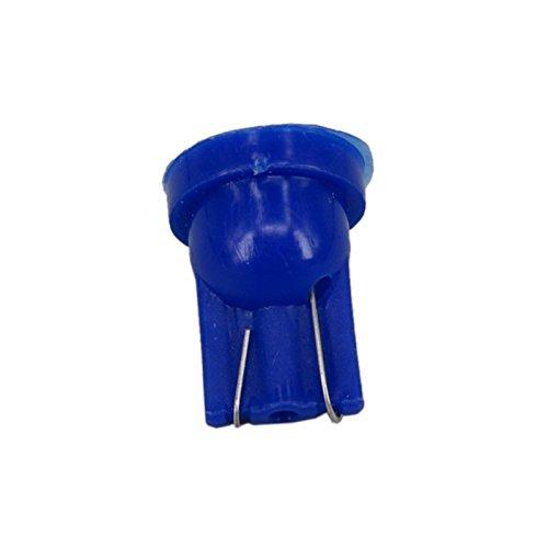 WLJH Lot de 20 168 T10 Tableau de bord ampoule Super Lumineux Bleu 194 2825 W5 W d/ôme int/érieur Cluster de jauge de tableau de bord ampoules LED