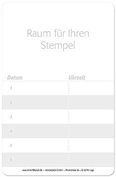 100 St/ück Terminkarten Terminkartegreen spa Spa Manik/üre f/ür Fu/ßpflege