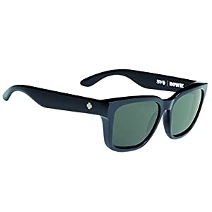 Spy Optic Bowie Flat Sunglasses, 56 mm (Black)