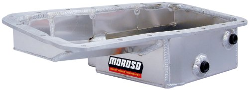 Moroso 20901 Drag Oil Pan for Honda 1.8L Engines (Honda Moroso Pan Oil)