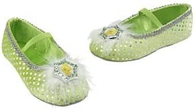 Deluxe Girls Disney Tinkerbell with Slippers Book Day Fancy Dress Costume Outfit
