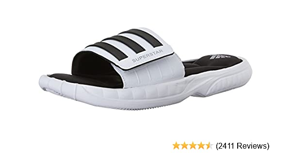 premium selection 48a38 630bf Amazon.com  adidas Performance Mens Superstar 3G Slide Sandal  Sandals