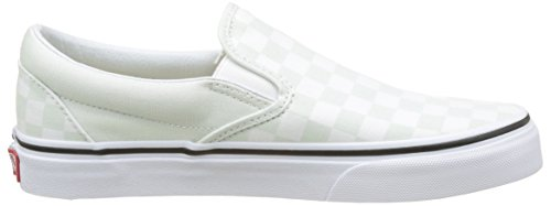 Vert Slip on checkerboard Enfiler Baskets Femme Classic Vans B1wqYY