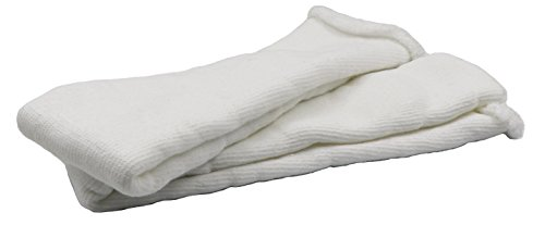 (Healthstar Replacement Sock Liner for Orthopedic Walking Boots - Pack of 2 Socks | Medical Tube Socks to wear Under Air Cam Walkers and Fracture Boot Casts (2 Socks) )