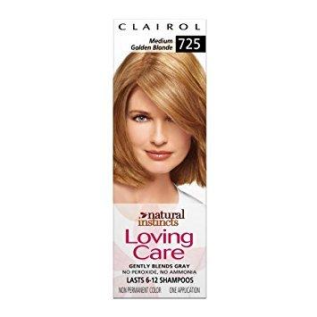 Clairol: Medium Golden Blonde Natural Instincts Loving Care