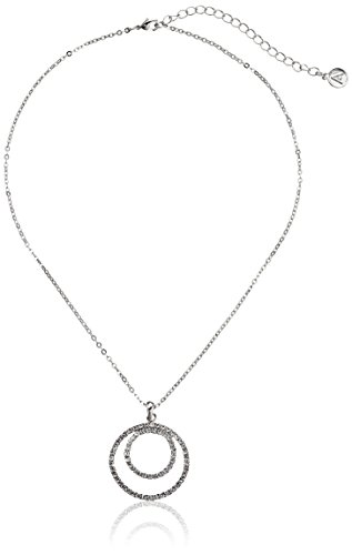 Crystal Circle Pendant Magnetic Clasp