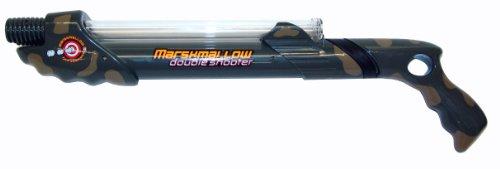 Camo Double Barrel Marshmallow Shooter
