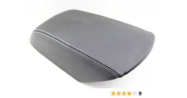 Ford Explorer Premium Padded Replacement armrest Console Cover with Staples Dark Charcoal Gray