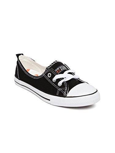 7b5838ba88d Kook N Keech Women Black Casual Shoes (8UK)  Buy Online at Low ...