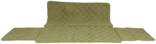 CPC Diamond Quilted Couch Protector, 60-Inch, Sage by Cpc