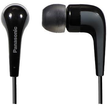 Amazon.com: Panasonic RP-HJE140-K L-shaped Ear Earbud ...
