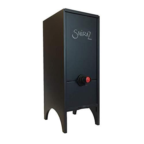 Wine Nook LN-BLK Little Nook Box Wine Dispenser, 3 Liters, Black