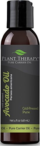 Plant Therapy Avocado Carrier Oil. A Base Oil for Aromatherapy, Essential Oil or Massage use. 4 oz.