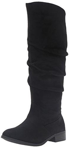Steve Madden Girls' Jordina Boot, Black, 13 M US Little Kid