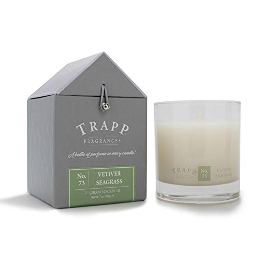 Trapp 7oz Signature Home Collection Poured Scented Candle - No. 73 Vetiver Seagrass