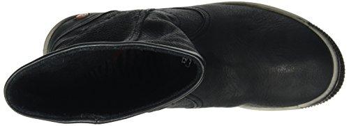 Softinos IGGY348SOF Smooth, Zapatillas de Estar por Casa para Mujer Negro - negro