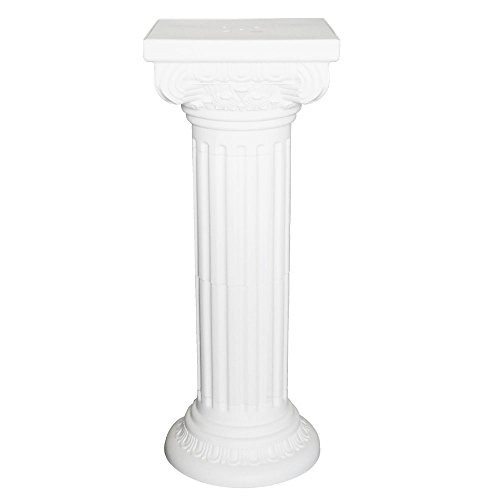 Homeford FPF00000000CP047 Tall Pedestal Roman Plastic, used for sale  Delivered anywhere in USA