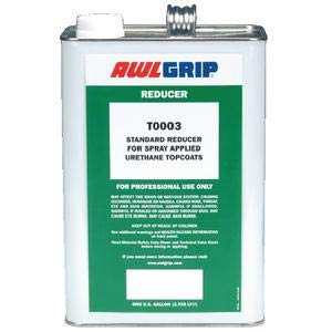 Awlgrip T0003Q TOPCOAT REDUCERS/STD.REDUCER FOR SPRY TPCOT-QT RED DOT CORP Awlgrip T0003Q TOPCOAT REDUCERS / STD.R