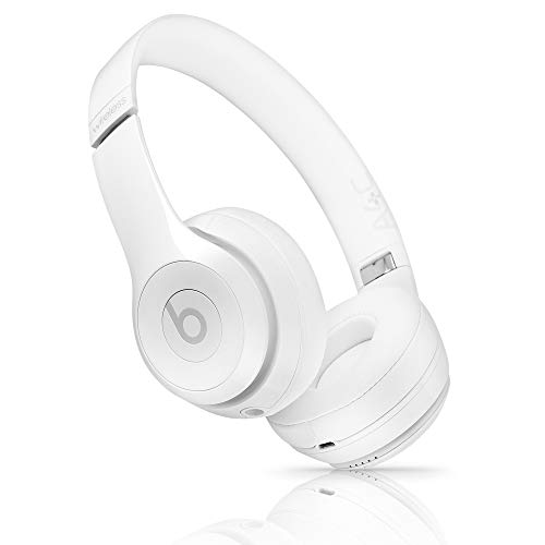 Beats by Dr. Dre Beats Solo3 Wireless On-Ear Headphones – Gloss White (Renewed)