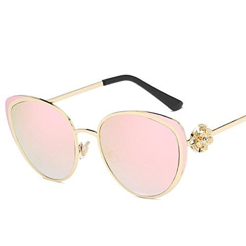 brillantes 142 del E 54m americano de metálico Gafas Gafas m mujeres sol sol 146 NIFG de las y marco de europeo FzxqSnw