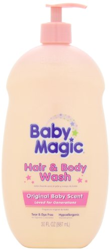 Baby Magic Hair and Body Wash, Original Baby Scent, 30 Ounces