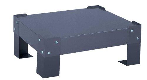- Durham 304-95-5.75/LEG Gray Steel Base For Large Slide Racks, 20-5/8