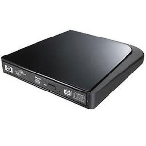 HP DVD556s 8x USB Powered Slim Multiformat DVD Writer