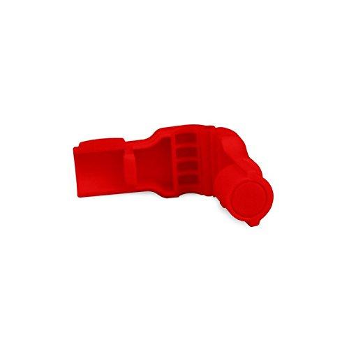100 x Chapa Alarma Antihurto para Gancho - Color Rojo