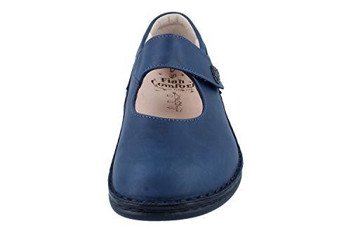 Comfort para para Exterior Finn Zapatillas de Mujer Azul Deportes ZpqFAwwP