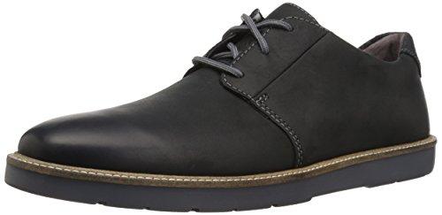 Mens Black Leather Oxfords - Clarks Men's Grandin Plain Oxford, Black Leather, 10 M US