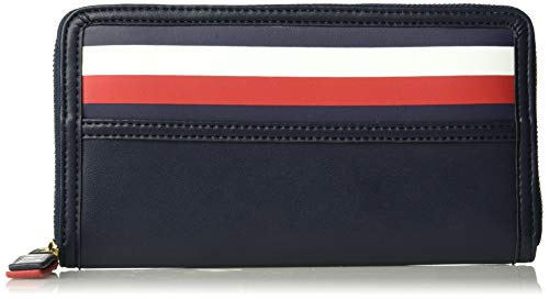 Tommy Hilfiger Gianna Zip Wallet, Tommy Navy