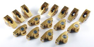 Crane Cams 10759-16 Gold Race 1.6 Ratio Rockers for 3/8'' Stud Chevrolet 305-350 by Crane Cams
