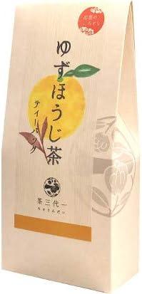 出雲のいろどり ゆずほうじ茶 3g×7P×9 ティーバッグ 茶三代一 健康茶 香料 着色料 不使用