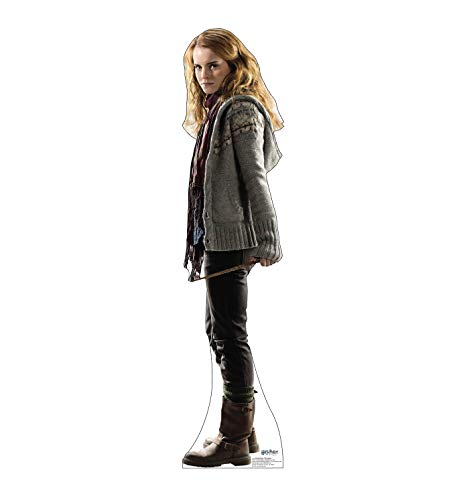 Advanced Graphics Hermione Granger Life Size Cardboard Cutout Standup - Harry Potter and the Deathly Hallows -