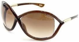 NEW TOM FORD TF9 692 WHITNEY BROWN AUTHENTIC FRAME SUNGLASSES 64-14 W//CASE