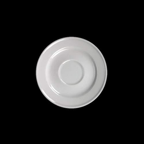 11 cm Wei/ß Holst Porzellan 6er Espressotasse 0,08 l mit Untertasse Porzellan