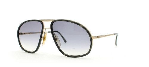 Dunhill 6093 20 Blk Gold and Grey Authentic Men Vintage - Sunglasses Dunhill