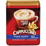 Hills Bros: French Vanilla Cappuccino Drink Mix, 16 Oz(Pack of ()