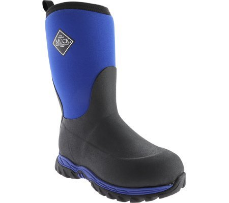 Muck Rugged II Toddler Boys Blue Foam Performance Boots Winter 8 M US Toddler by Muck Boot